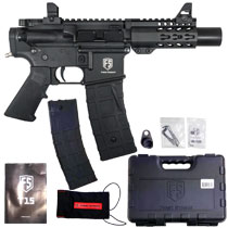 First Strike T15 Machine Pistol Paintball Marker Black