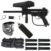 Tippmann A-5 Paintball Marker Starter Package