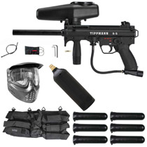 Tippmann A-5 E-Grip Paintball Starter Package