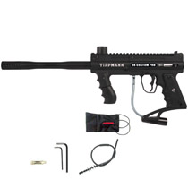 Tippmann 98 Custom Pro ACT Platinum Series E-Trigger Paintball Gun Black