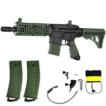 Tippmann TMC Mag Fed Paintball Marker Black/Olive