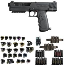 Tippmann TiPX Paintball Gun Pistol - Black - Black Friday Special 2018