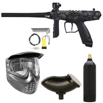 Tippmann Gryphon FX Paintball Marker Package - Skull