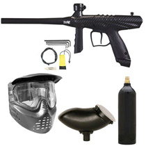 Tippmann Gryphon FX Paintball Marker Package - Carbon Fiber