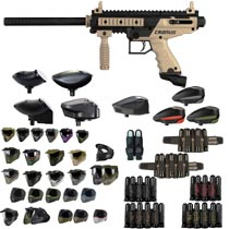 Tippmann Cronus Paintball Gun Tan / Black - Black Friday Special 2018