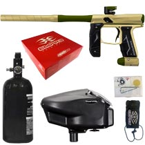 Empire Axe 2.0 Paintball Marker Dust Tan Dust Olive Rookie Package