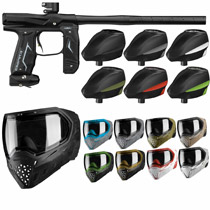 Empire Axe 2.0 Paintball Marker Combo - Dust Black
