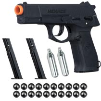 GI Sportz Menace .50 Caliber Pistol Black Self Defense Package