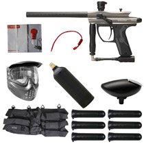 Spyder Fenix Paintball Starter Package Silver Grey
