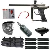 Spyder Fenix Paintball Rookie Package Silver Grey