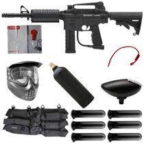 Spyder MR6 Paintball Marker Starter Package Black