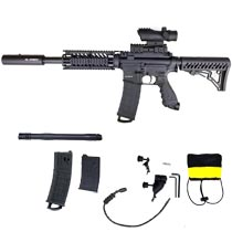 Tippmann TMC Mag Fed Sniper Paintball Marker Black