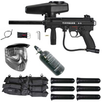 Tippmann A-5 E-Grip Paintball Gun Rookie Package