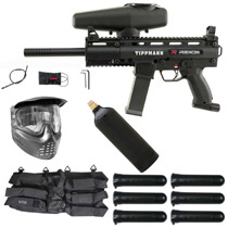 Tippmann X7 Phenom Mechanical Paintball Starter Package