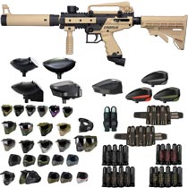 Tippmann Cronus Tactical Paintball Gun Tan / Black - Black Friday Special 2018