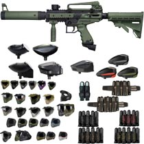 Tippmann Cronus Tactical Paintball Gun Olive/Black - Black Friday Special 2018