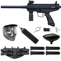 Tippmann Stormer Basic Paintball Marker Black Starter Package