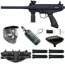 Tippmann Stormer Basic Paintball Marker Black Rookie Package
