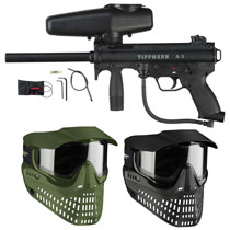 Tippmann A-5 Paintball Marker W/ Selector Switch with FREE JT Proshield Goggle