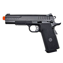 KJW KP-08 1911 Full Metal Gas Blow Back Airsoft Pistol Black