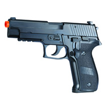 KJW KP-01 Full Metal Gas Blow Back Airsoft Pistol Black