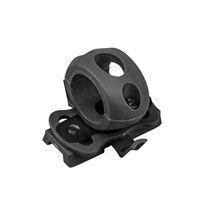 Valken Tactical Flashlight Swivel Clamp Helmet Accessory Black