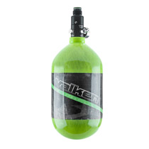 Valken 68ci 4500psi Carbon Fiber Compressed Air Tank Green Stripe