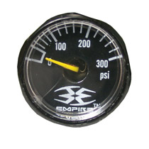 Empire Axe Factory Part 300psi Empire Gauge - Black
