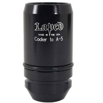 Lapco Paintball Barrel Adapter Autococker to A-5/X7