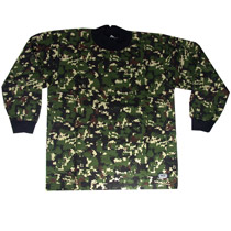 PCS Evasion Paintball Jersey Digital Jungle Camo - Medium