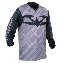 Valken Fate II Paintball Jersey Grey