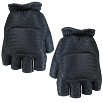 Empire BT 2013 Soft Back Fingerless Paintball Gloves Black