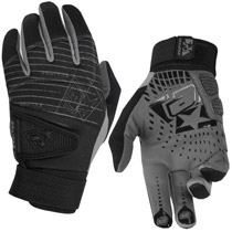 Planet Eclipse 2013 Distortion Full Finger Gloves Black