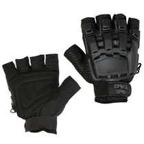 Valken Tactical Half Finger Plastic Back Gloves