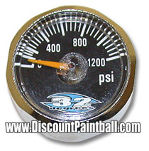32 Degrees Mini Gauge 0 - 1200 psi