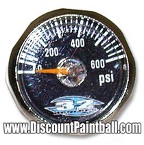 32 Degrees Mini Gauge 0 - 600 psi