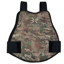Empire BT Folding Reversible Chest Protector Camo/Black OSFM