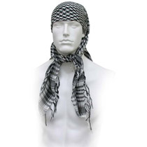 GXG Special Forces Head Wrap Checkers Black/White