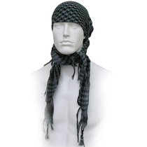 GXG Special Forces Head Wrap Checkers Grey