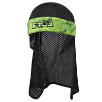 Planet Eclipse Fracture Headwrap Lime