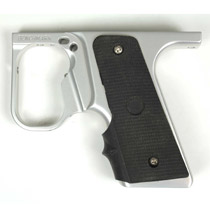 Benchmark Autococker 99 Double Trigger 45 Grip Frame - Silver
