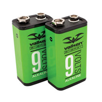 Valken Energy 9V Alkaline Battery 2 Pack