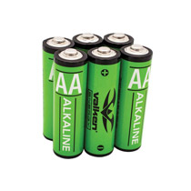 Valken Energy AA Alkaline Battery 6 Pack