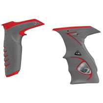 Dye DM14 Paintball Sticky Grip Kit Red Grey