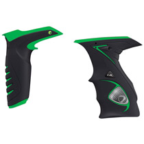 Dye DM14 Paintball Sticky Grip Kit Black Green