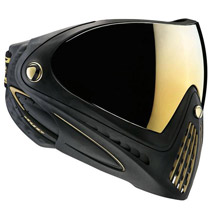 Dye I4 Thermal Paintball Goggles - Black/Gold