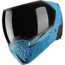 Empire EVS Paintball Mask Blue Black with Extra Lens