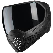 Empire EVS Paintball Mask Black with Extra Lens