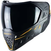 Empire EVS Paintball Mask Black Gold with Extra Lens