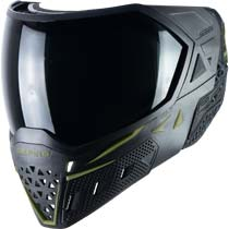 Empire EVS Paintball Mask Black Olive with Extra Lens